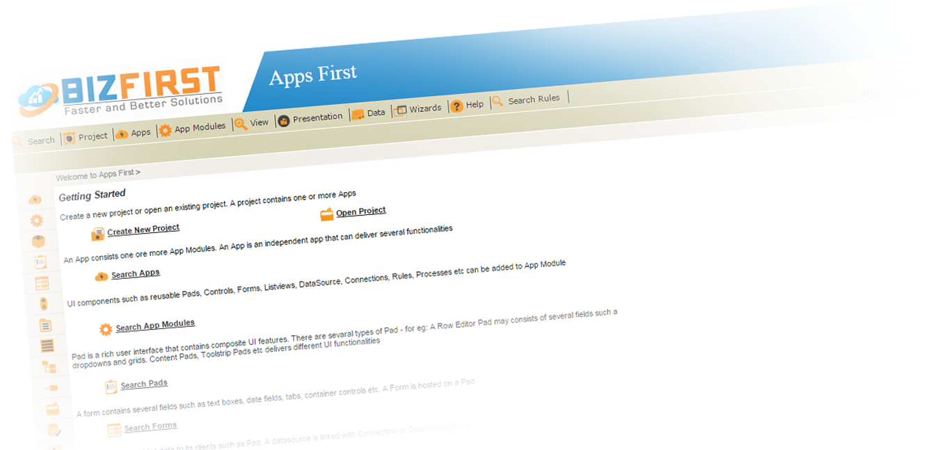 Application Development Platform